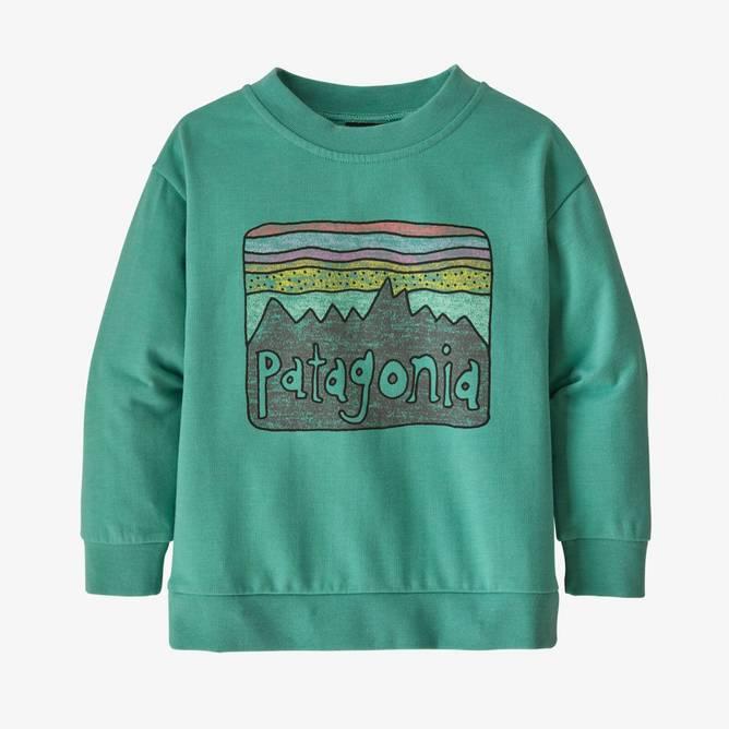 Bilde av Patagonia Baby LW Crew Sweatshirt Fitz Roy S.