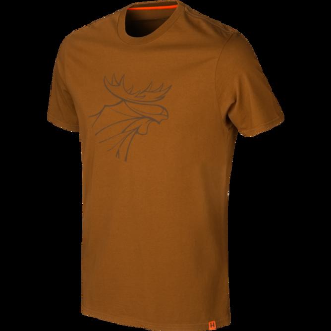 Bilde av Härkila graphic t-shirt Rustique clay