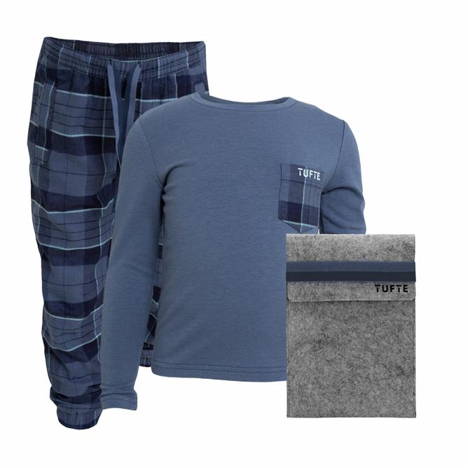 Bilde av Tufte Kids Pyjamas Blue