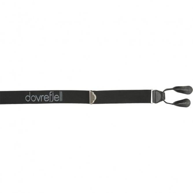Bilde av Dovrefjell Classic bukseseler for knapper, sort