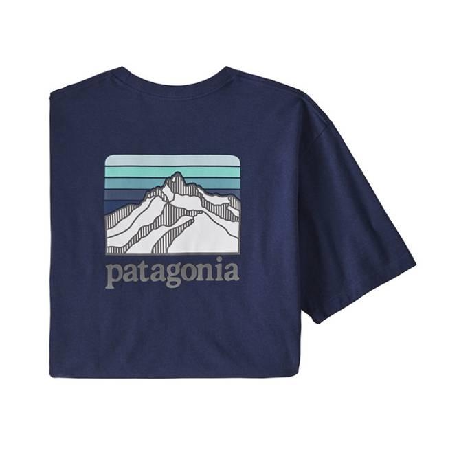 Bilde av Patagonia Line Logo Ridge Pocket T-skjorte M