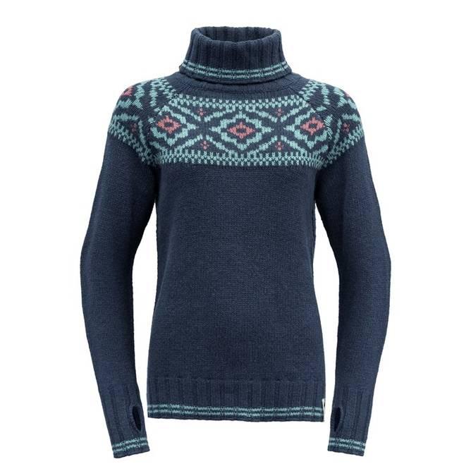 Bilde av Devold Ona Woman Round Sweater Vintage