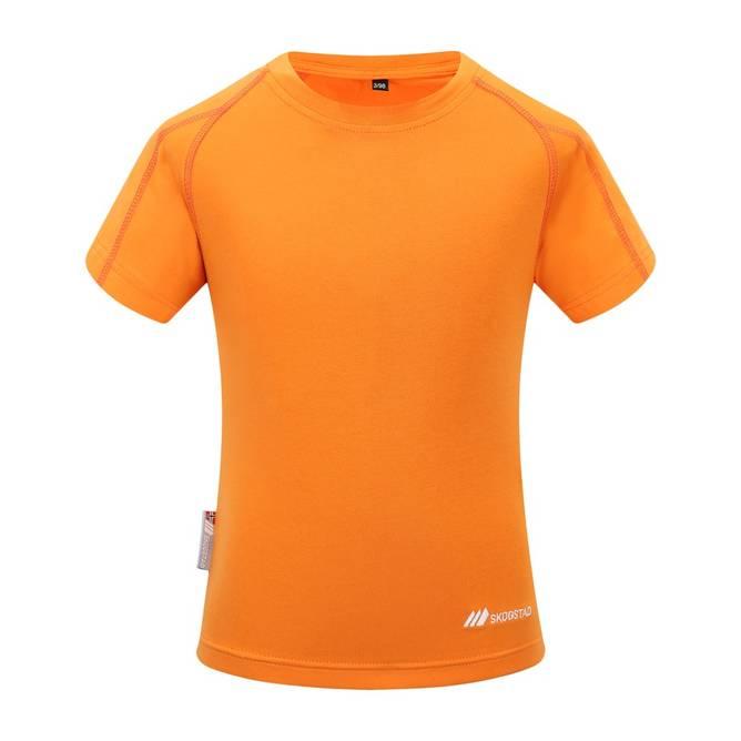 Bilde av Skogstad Årdal T-Skjorte Orange Peel Barn