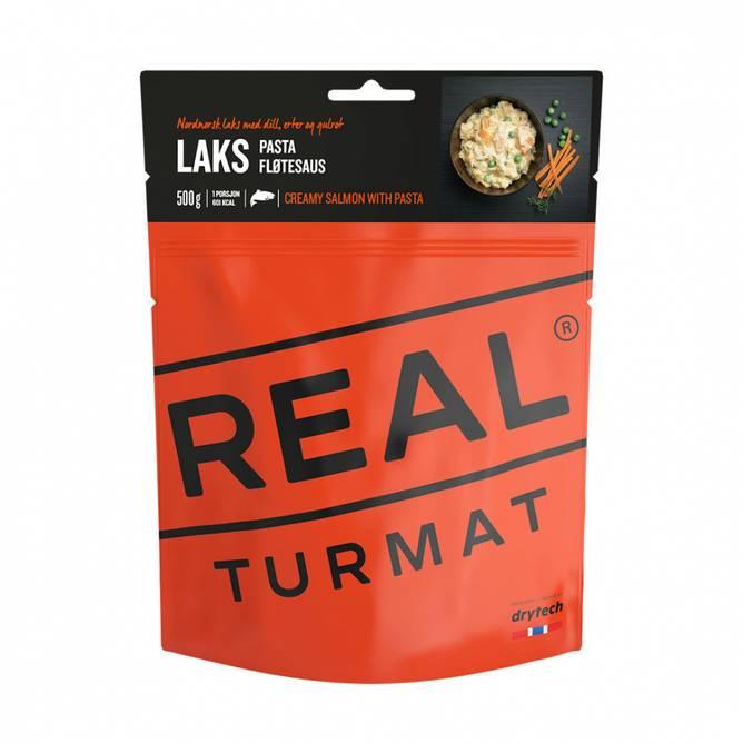 Bilde av Real Turmat Laks med pasta og fløtesaus