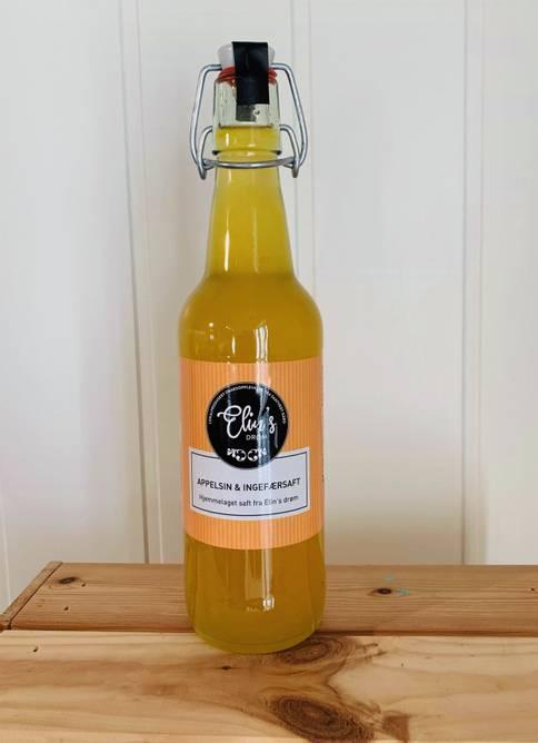 Bilde av Appelsin- og ingefærsaft