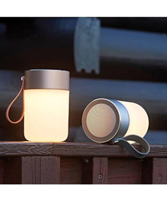 Bilde av Lykt Colors LED Sound Jar Gold