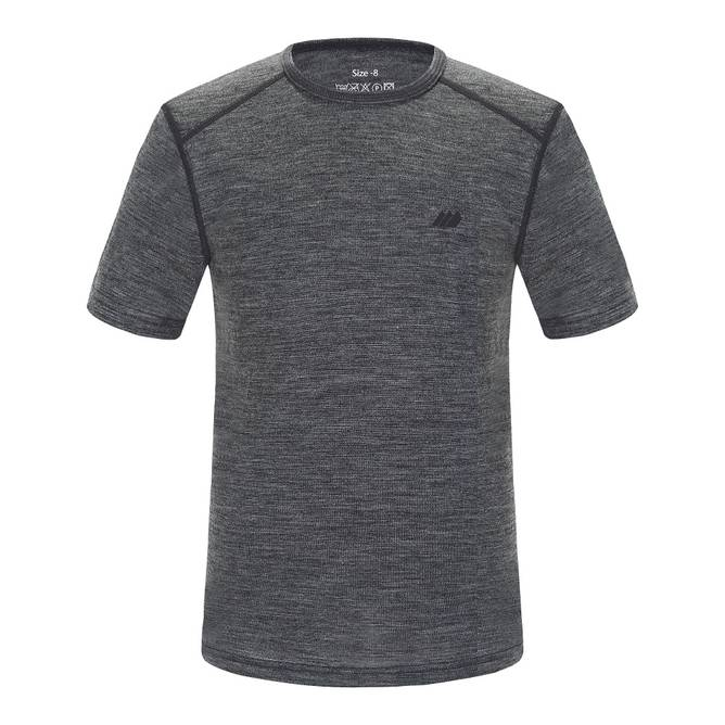 Bilde av Skogstad Lihesten Merino T-skjorte Mid Grey 7 -