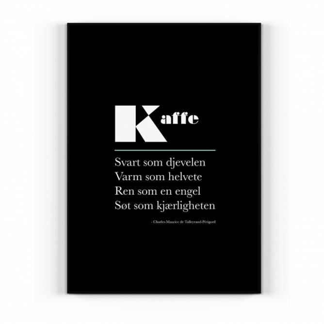 Bilde av Plakat Kaffe