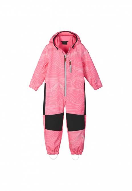 Bilde av Reima Nurmes Softshell Overall Neon Pink