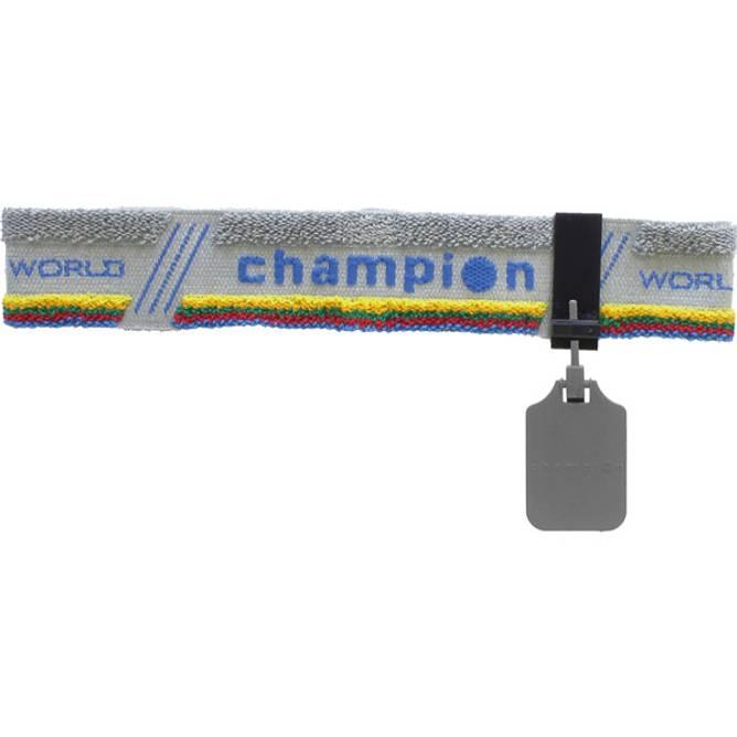 Bilde av Champion Pannebånd m/øyedeksel Grå