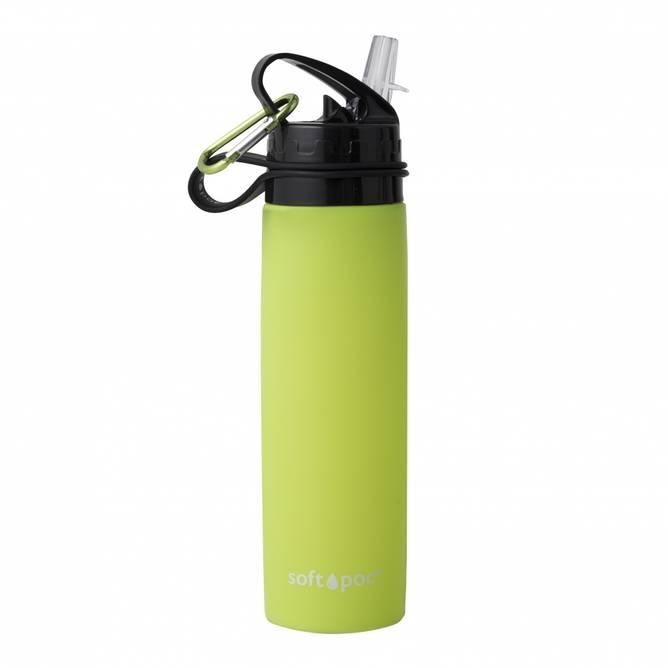 Bilde av Sammenleggbar drikkeflaske Grønn SoftPoc