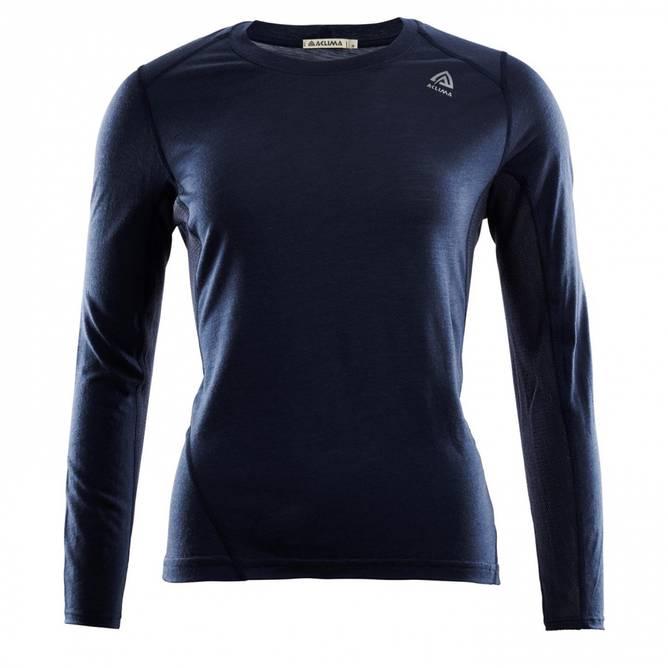 Bilde av Aclima LightWool Sports shirt W Navy Blazer
