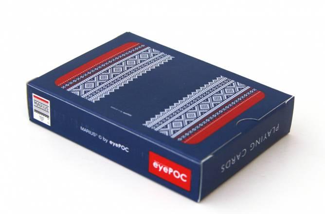 Bilde av Spillkort med mariusmønster