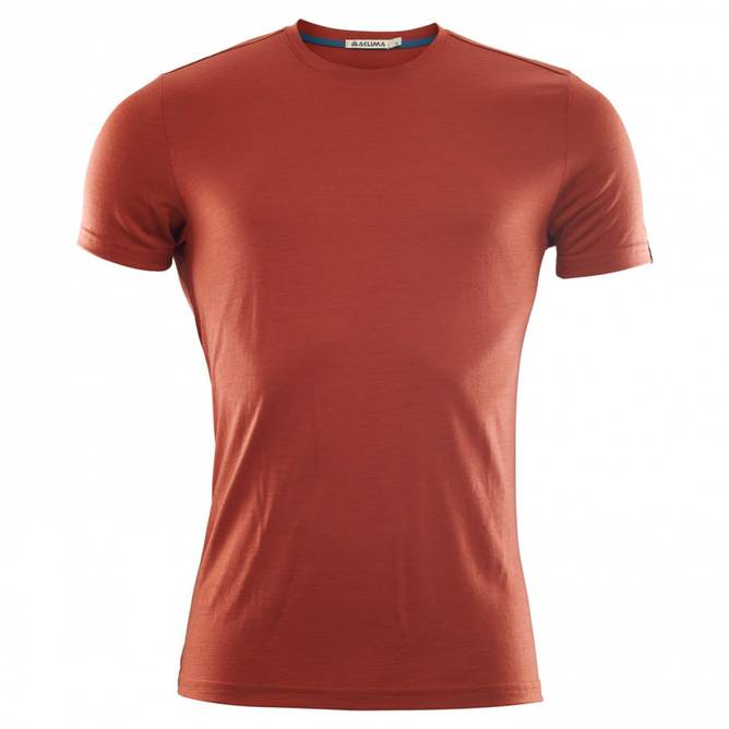 Bilde av Aclima LightWool T-shirt M Red Ochre