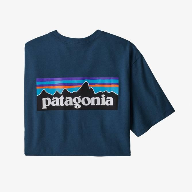 Bilde av Patagonia P-6 Logo Responsibili-Tee Crater Blue