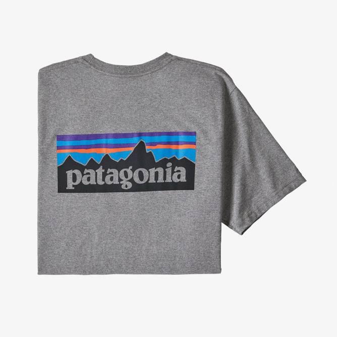Bilde av Patagonia P-6 Logo Responsibili-Tee Gravel