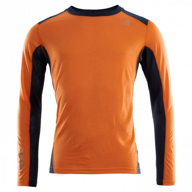 Bilde av Aclima LightWool Sports shirt M Orange Popsicle /