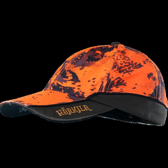 Bilde av Härkila Lynx Safety Light Cap Orange Blaze/Shadow