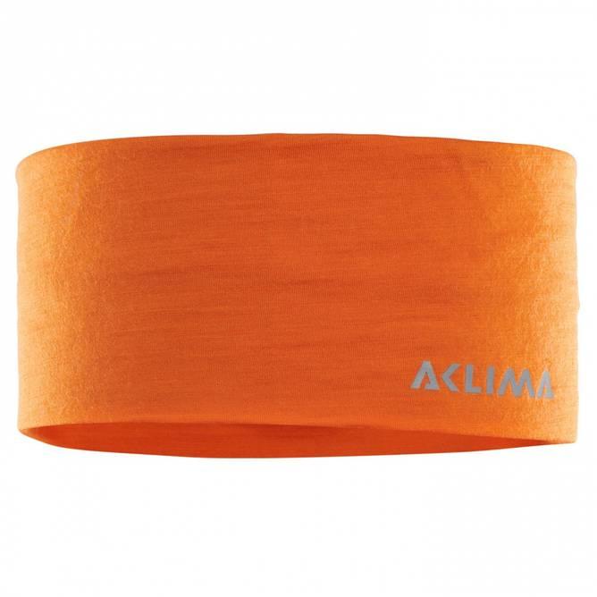Bilde av Aclima LightWool Headband Orange Popsicle Medium