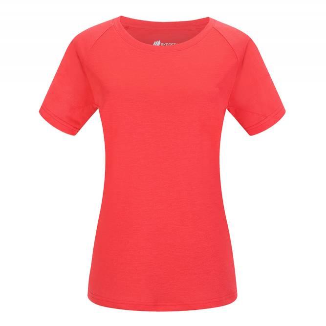 Bilde av Skogstad Bryn Teknisk T-skjorte Hibiscus Red
