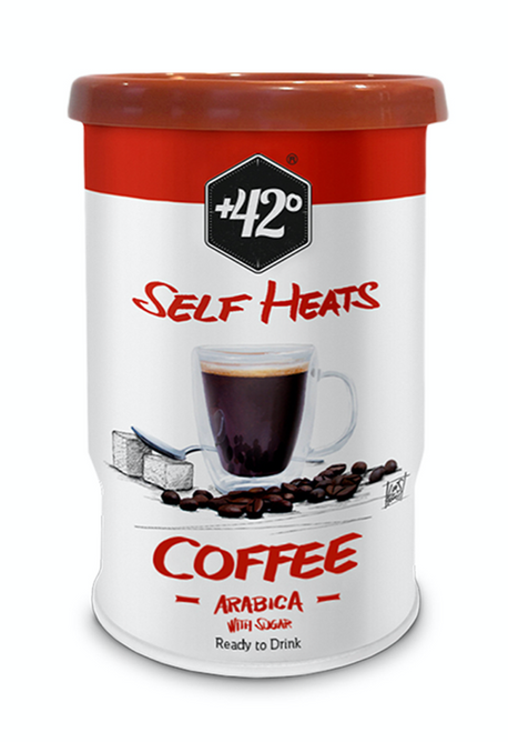 Bilde av +42 Selvvarmende drikk - Kaffe Arabica m/sukker