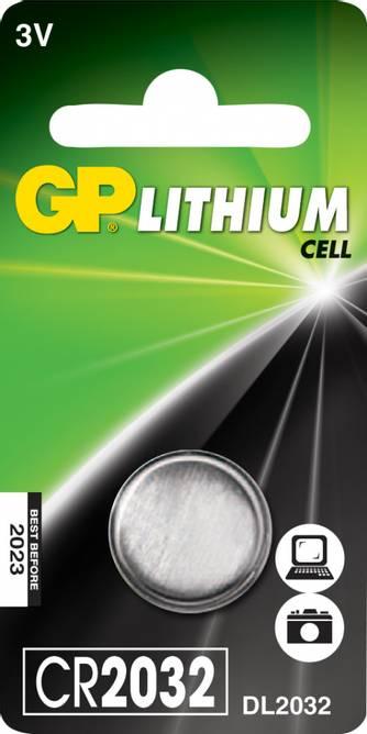 Bilde av Batteri GP Litium CR2032