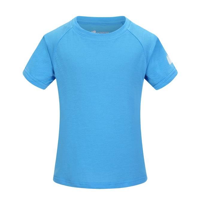 Bilde av Skogstad Øye Teknisk T-skjorte Malibu Blue 7-14