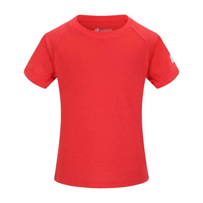 Bilde av Skogstad Øye Teknisk T-skjorte Hibiscus Red 7-14