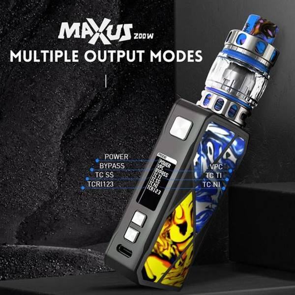 FreeMax Maxus 200W m/Mesh Pro 2 Tank 5 ml