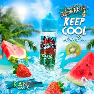 Bilde av Kanzi Iced - Twelve Monkeys E-Juice 50 ml