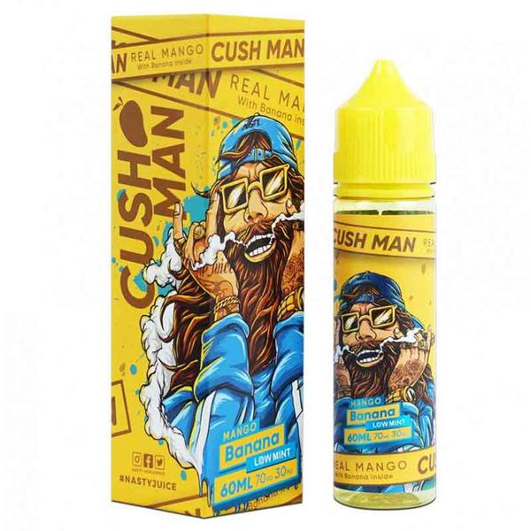 Cushman Mango Banana - Nasty Juice 50 ml