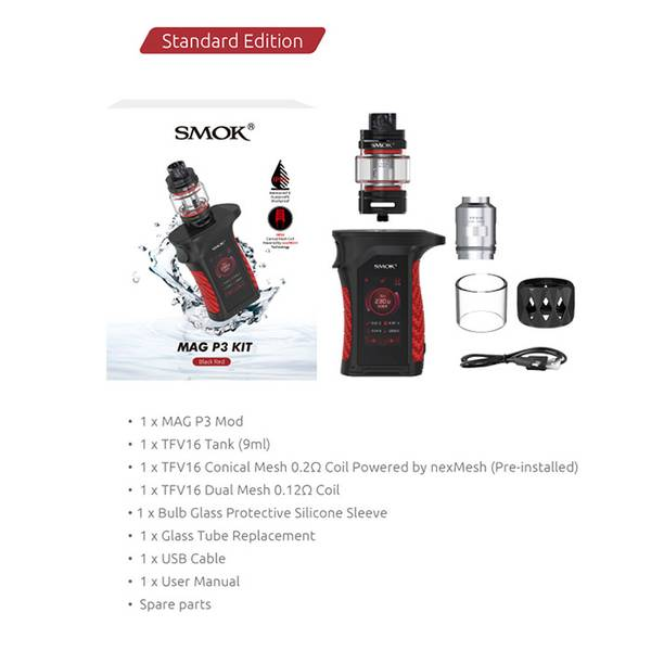 Smok Mag P3 Kit 230 Watt IP67