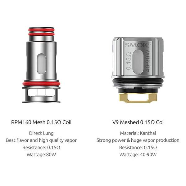 Smok RPM160 Pod Startsett 7.5 ml