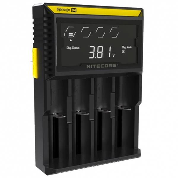 Nitecore Intellicharger D4 Lader med Display