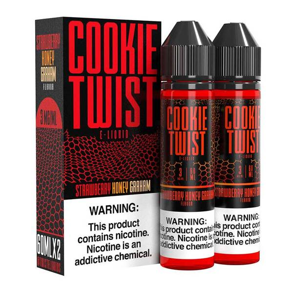 Strawberry Honey Graham - Twist E-Liquid 60 ml