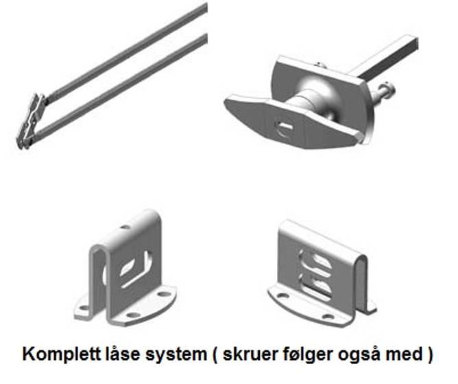 Bilde av Espagnolettlås - Komplett