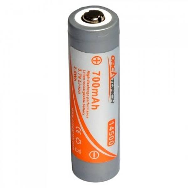 Bilde av OrcaTorch 14500 batteri, 700mAh