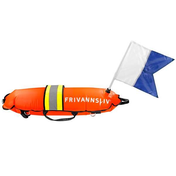 Bilde av Fridykkerbøye m/refleks og stort flagg