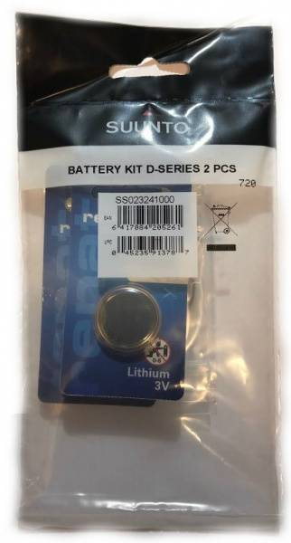 Bilde av Suunto Battery Kit D-Series 2pk