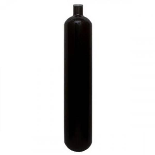 Bilde av Flaske 3 liter 232 bar, rebreather u/kran