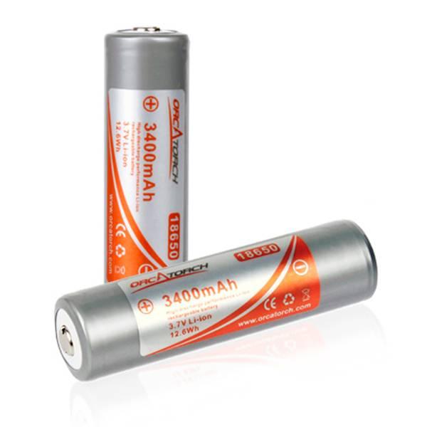 Bilde av Orcatorch batteri 18650, 3400mAh