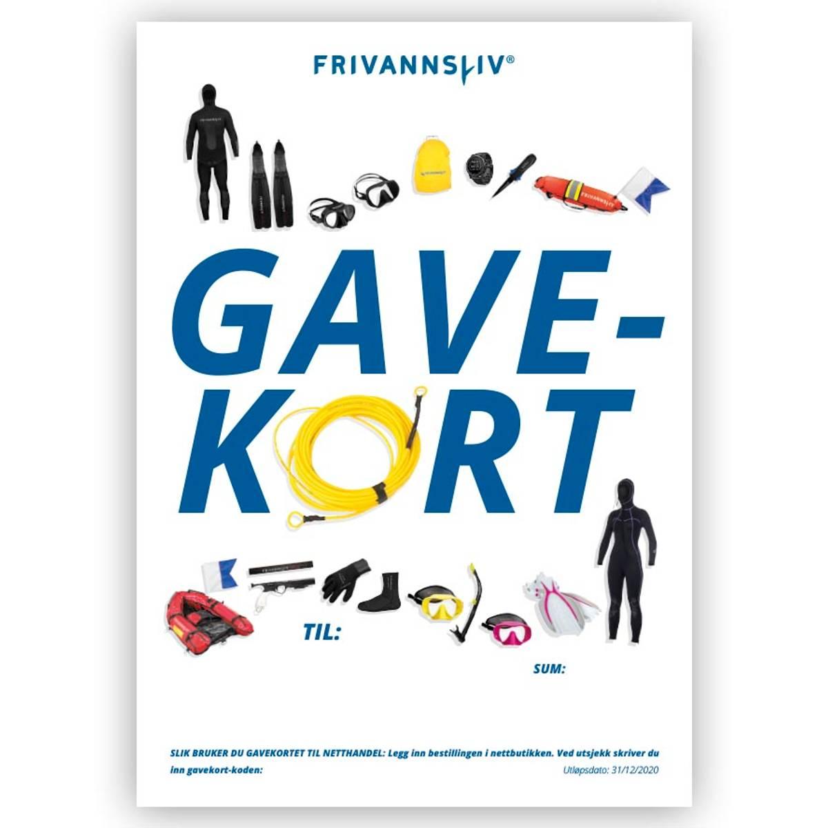 Gavekort Frivannsliv®