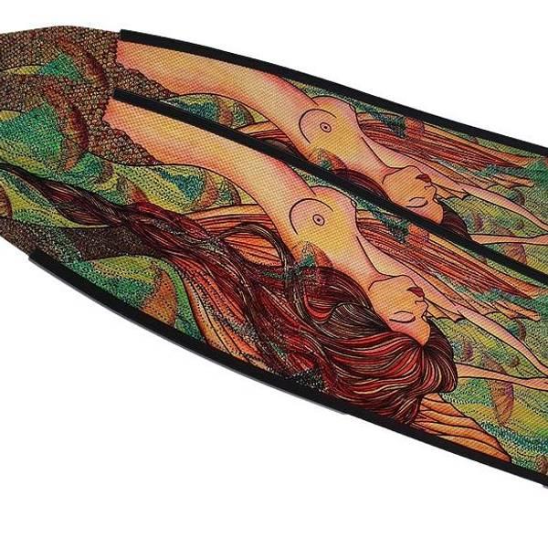 Bilde av DiveR Frivannsliv - Mermaid Green Fiber Soft