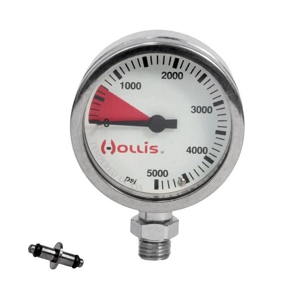 Bilde av Hollis manometer, metall