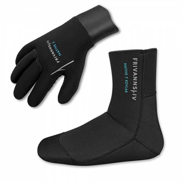 Bilde av NATIVE hansker+sokker