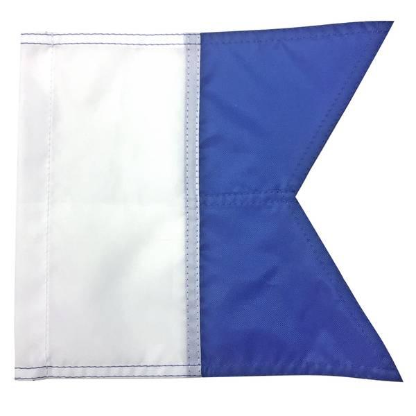 Bilde av Signalflagg A til fridykkerbøye og flåte 30 x 35