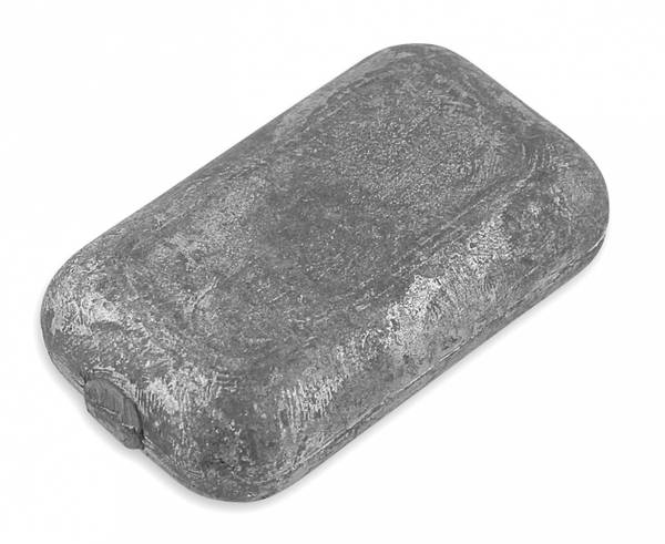 Bilde av 0,5 kg blylodd til blyvest Frivannsliv