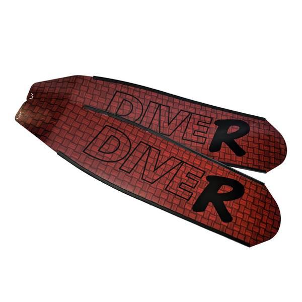 Bilde av DiveR Frivannsliv -Innegra Carbon Black R