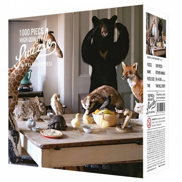 Bilde av PUSLESPILL - Kitchen Animals
