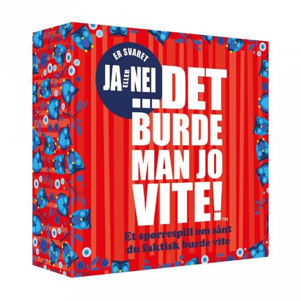 Bilde av SPILL - ...DET BURDE MAN JO VITE! - Ja eller Nei